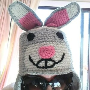 EASTER Bunny Knit Hat
